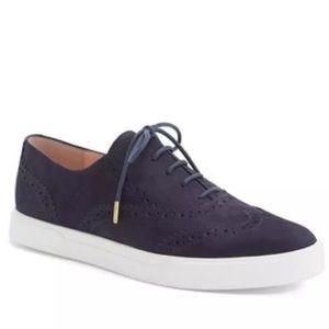 Kate Spade 'Catlyn' Suede Oxford Sneakers Navy.